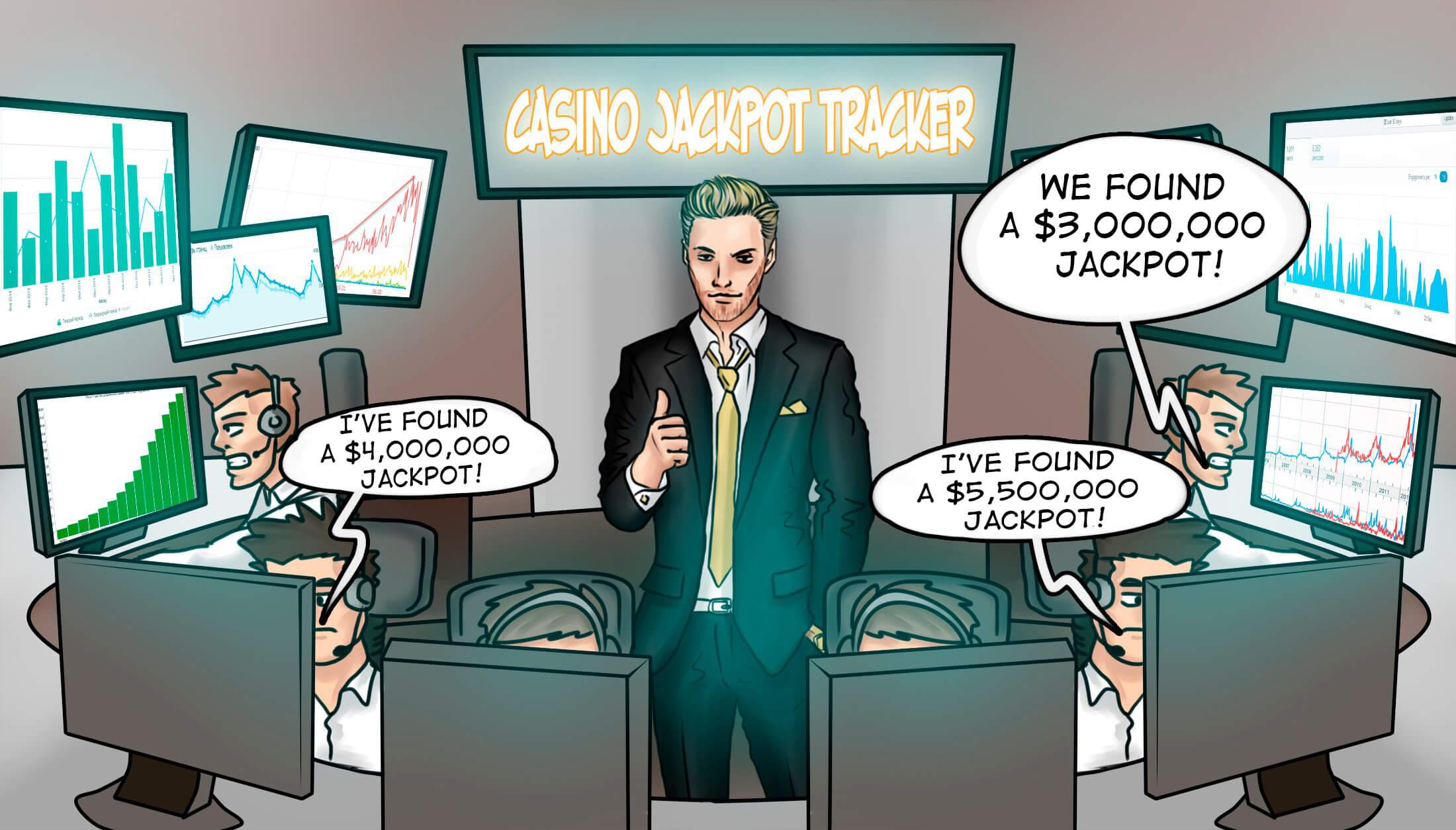 online casino jackpot tracker